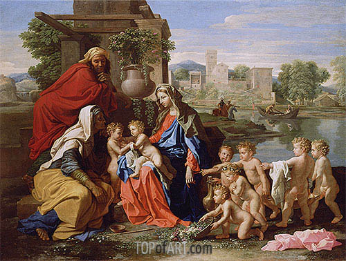 Nicolas Poussin | The Holy Family, c.1651