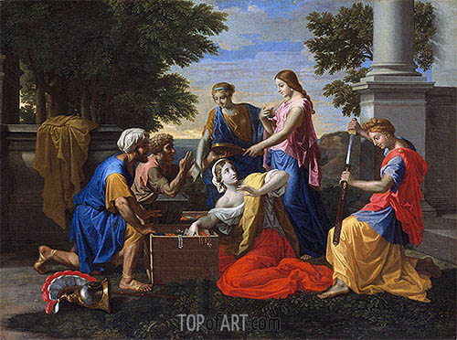 Discovery of Achilles on Skyros, c.1649/50 | Nicolas Poussin | Painting Reproduction