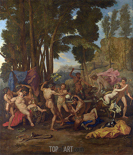 The Triumph of Silenus, c.1637 | Nicolas Poussin| Painting Reproduction