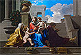 The Holy Family on the Steps | Nicolas Poussin