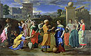 Eliezer and Rebecca at the Well | Nicolas Poussin