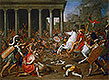 The Destruction of the Temples in Jerusalem by Titus | Nicolas Poussin