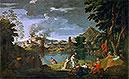 Orpheus and Eurydice | Nicolas Poussin
