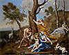The Nurture of Jupiter | Nicolas Poussin