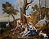 The Nurture of Jupiter | Nicolas Poussin