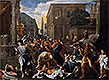 The Plague of Ashdod (The Philistines Struck by the Plague) | Nicolas Poussin