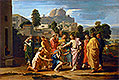 The Blind of Jericho (Christ Healing the Blind) | Nicolas Poussin