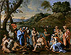 St. John Baptising the People | Nicolas Poussin