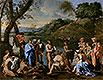St. John Baptising the People | Nicolas Poussin