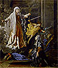 Saint Francoise Romana and the Miracle of the Plague | Nicolas Poussin