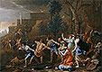 The Saving of the Infant Pyrrhus | Nicolas Poussin