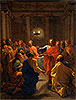 Christ Instituting the Eucharist (The Last Supper) | Nicolas Poussin