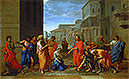 The Woman Taken in Adultery | Nicolas Poussin