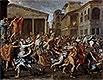 Rape of the Sabine Women | Nicolas Poussin