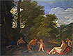Nymphs and a Satyr (Amor Vincit Omnia) | Nicolas Poussin