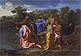 The Baptism of Christ | Nicolas Poussin