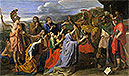 Coriolanus Entreated by His Wife and His Mother | Nicolas Poussin