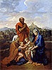 The Holy Family with St. John, St. Elizabeth and St. Joseph Praying | Nicolas Poussin