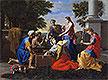 Discovery of Achilles on Skyros | Nicolas Poussin