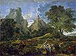 Landscape with Polyphemus   Nicolas Poussin