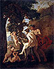 Venus, Faun and Putti | Nicolas Poussin
