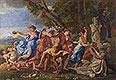 A Bacchanalian Revel before a Term | Nicolas Poussin