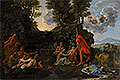 The Infant Bacchus Entrusted to the Nymphs of Nysa | Nicolas Poussin