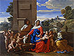 The Holy Family with the Infant Saint John the Baptist and Saint Elizabeth | Nicolas Poussin