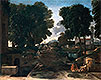 A Roman Road (Landscape with Travelers Resting) | Nicolas Poussin