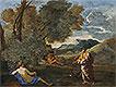 Numa Pompilius and the Nymph Egeria | Nicolas Poussin