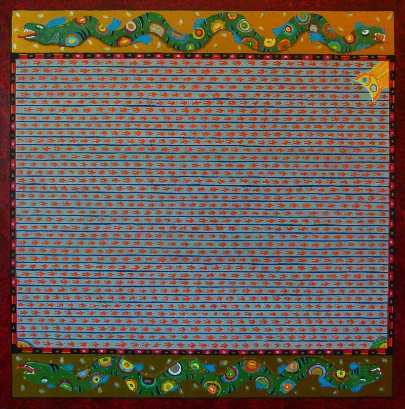Ohne Titel VIII (Himmlisches Königreich), undated | Nikolay Kermov | Gemälde Reproduktion