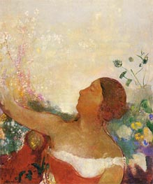 Predestined Child, c.1904/05 by Odilon Redon | Painting Reproduction