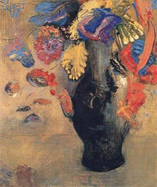 Flowers, c.1903 by Odilon Redon | Painting Reproduction
