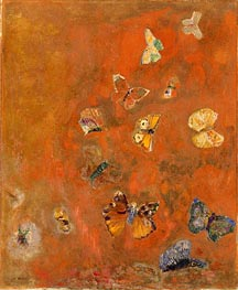 Evocation of Butterflies | Odilon Redon | veraltet
