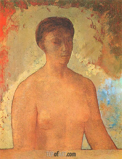 Odilon Redon | Eve, 1904
