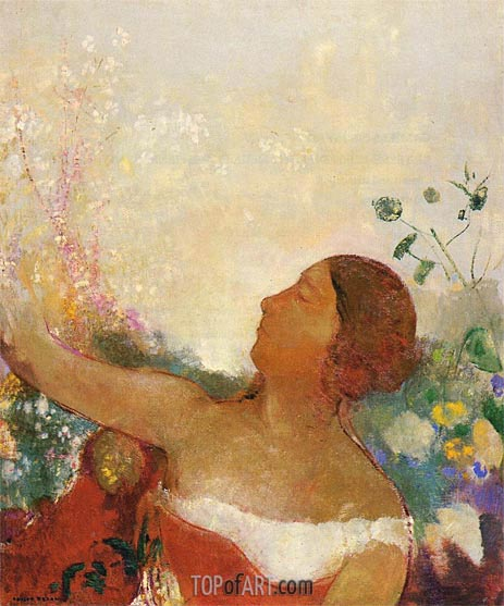 Odilon Redon | Predestined Child, c.1904/05