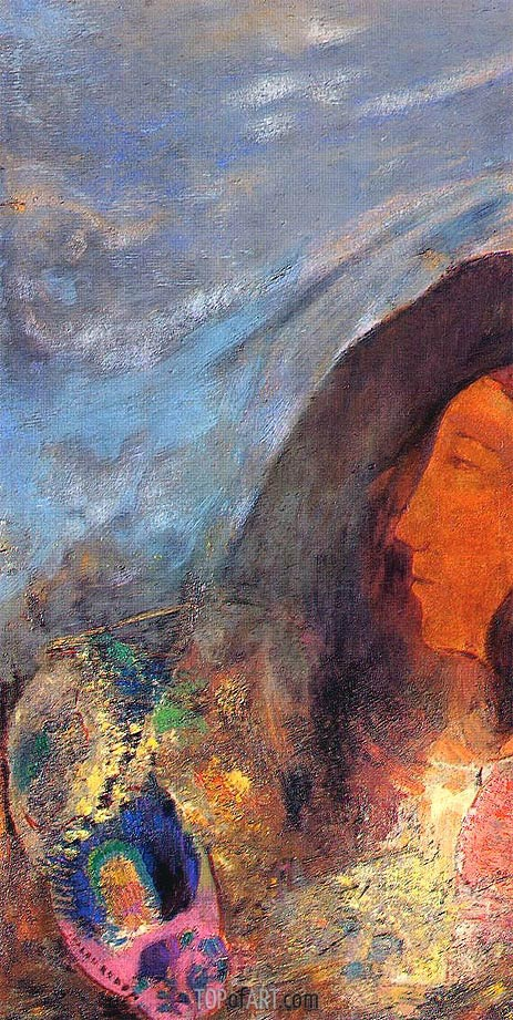 Poet's Dream, Undated | Odilon Redon | Painting Reproduction