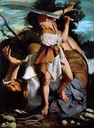 David and Goliath, undated von Orazio Gentileschi | Gemälde-Reproduktion