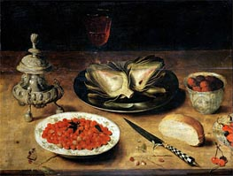Still Life with an Artichoke | Osias Beert | outdated