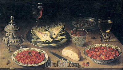 Still Life, c.1600/24 | Osias Beert| Painting Reproduction