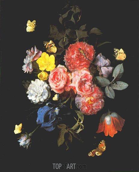van Schrieck | Flowers and Butterflies, undated
