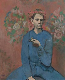 Boy with a Pipe (Garcon a la Pipe), 1905 by Picasso | Painting Reproduction