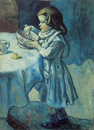 Le Gourmet, 1901 by Picasso | Painting Reproduction