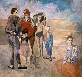 Family of Saltimbanques, 1905 von Picasso | Gemälde-Reproduktion