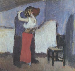 Appointment, 1900 by Picasso | Painting Reproduction