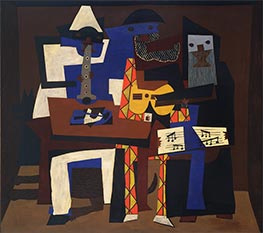 Three Musicians | Picasso | Painting Reproduction