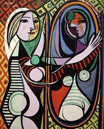 Girl before a Mirror | Picasso | veraltet