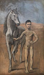 Boy Leading a Horse, c.1905/06 by Picasso | Painting Reproduction