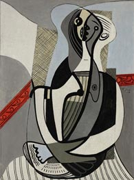 Seated Woman | Picasso | Painting Reproduction