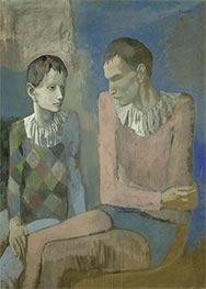 Akrobat und junger Harlekin | Picasso | Gemälde Reproduktion